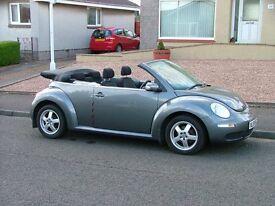 Volkswagen Beetle Convertible 59 Reg. Very low mileage