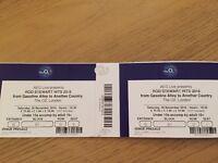 Rod Stewart O2 tickets x 2, Saturday 26/11/16