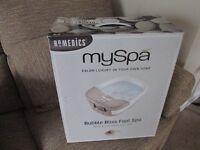 homedics foot spa