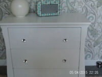 Drawers. solid white wood
