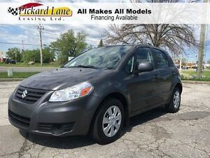2013 Suzuki SX4 $69.51 BI WEEKLY! $0 DOWN! AUTOMATIC! LOW KMS!