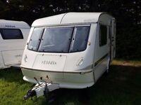1993 Elddis Mistral 2 Berth End Kitchen Caravan