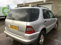 Mercedes Benz ml 270 cdi auto diesel spare parts available