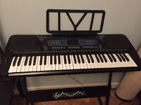 Pitchmaster Digital Piano Keyboard/Synthesizer/Electric Piano Stand/Instruction & Keyboard booklet