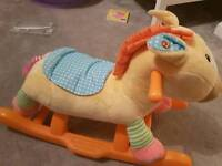 Baby rocking horse new condition