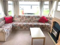 Pre Owned Carnaby Belvedere Holiday Home, Ingoldmells Static Caravans Skegness, 2018 Site Fees