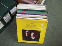 Classical vinyl record collection 11X LP boxsets (joblot 1)