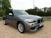 BMW X1 Sdrive20d M Sport Automatic (grey) 2012
