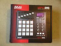 UNUSED AKAI MPD 26 MIDI Pad Control Unit RRP £150