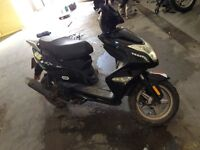 moped 125cc learner legal cheap