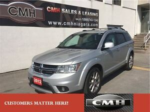 2012 Dodge Journey R/T AWD **ONLY $141.88 PAYMENT B/W *CERTIFIED