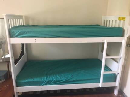 Bunk Bed including mattresses NEAR NEW