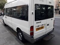 2004 Ford Transit Minibus 2.4 diesel MOT and tax drives perfectly