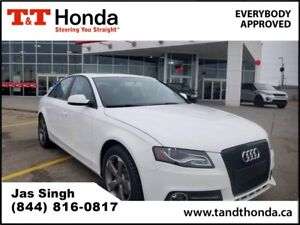 2012 Audi A4 2.0T *Heated Seats, Bluetooth, Leather*