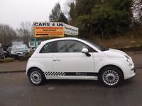 Fiat 500 Lounge 1.2cc 3 Door Hatchback Petrol Ring Today for a Test Drive!