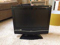 "Bush 19"" Digital LCD TV/DVD player"