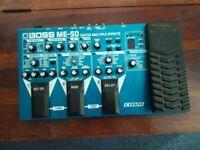 Boss ME-50 Multi Effects Pedal