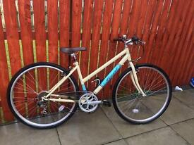 "REAL CLIFTON WOMEN'S HYBRID BIKE 17"" Good Condition"