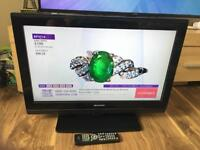 26inch sharp lcd tv with built in freeview