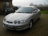 Hyundai coupe - 2001 on private plate, 11 months mot - poss swap