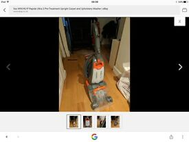 Vax rapid Capet cleaner like new