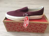 Vans Slip On Red (Size 8)