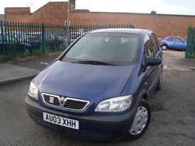 VAUXHALL ZAFIRA 1.6ltr *** FULL 12 MONTHS MOT - FREE DELIVERY ***