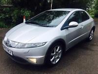 Honda Civic 2.2 Diesel EX SAT NAV XENON FOGS 17 ALLOYS CLEAN CAR
