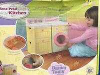 Dream Town Rose Petal Kitchen for play House tent