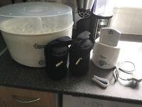 Tommee tippee steriliser, bottle warmer