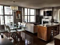 Partially Furnished Large 1 Bedroom & Den (753 sq ft)-Yaletown