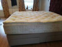 Super King size bed & mattress
