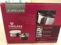Lakeland Timeless 3.5 litre slow cooker