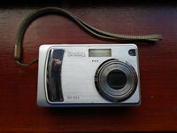 """BENQ"" DC E53 DIGITAL CAMERA with ALL ACCESSORIES in ORIGINAL BOX, SILVER, IN EXCELLENT CONDITION"