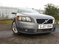 07 VOLVO C30 SE DIESEL 1.6,MOT MARCH 018,3 OWNERS FROM NEW,FULL SERVICEHISTORY,2 KEYS,STUNNING CAR