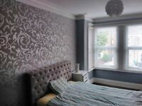 Two double bedrooms to rent available to move in now.