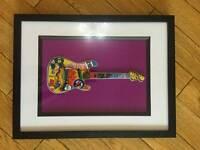 Bespoke guitar art