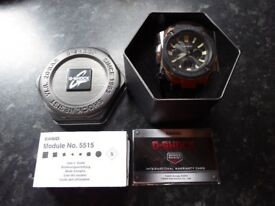 CASIO G-SHOCK SOLAR WATCH WATCH MAN RADIO COCKPIT 200 M GST-W120L-1AER