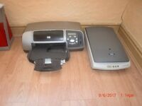 Printer. HP Printer & Epsom Scanner