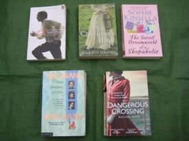 Five Very Absorbing Paperback Novels/Storybook for £4.00