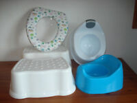 Toddler's Toilet Training Items