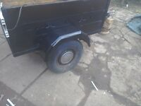 Wanted car trailer don't mind doing some repairs tex me