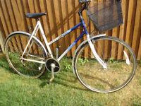 ladies raleigh shopping bike