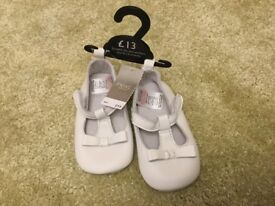 Baby girl leather shoes. Brand new with tags. Next. Age 6-12 months.