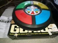 Vintage Genius Electronic Game by Estrela Brazilian version