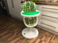 Cosatto 3sixti High Chair (apple design) £30