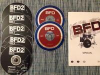 FXpansion BFD 1 2 & 3 GENUINE Software