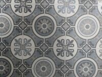 Moroccan Style Cushioned Vinyl Flooring Sheet - Collection only