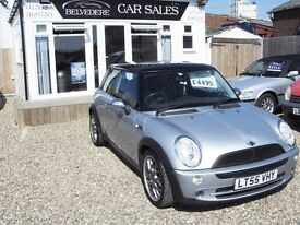 mini cooper 1.6 2005 (LOW MILEAGE)