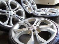 19inch r8 alloys wheels audi a4 a6 a8 a3 5x112 golf seat fr gti vw caddy t4 t3 transporter